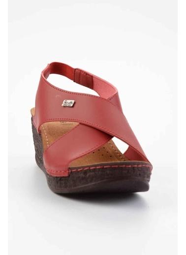 Bambi Spor Sandalet Kırmızı